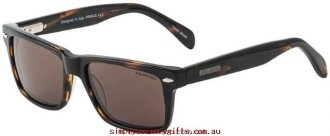 100% Original Sunglasses Prince 25439 Bill Bass Men Glass.76070102 - Dark Tort/Brown Polarised