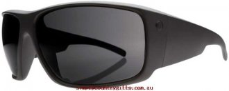 High-fashion Sunglasses Backbone 12701020 Electric Men Glass.78821712 - Matte Black/M Grey
