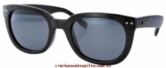 Buy Sunglasses Pacifico 3080 Carve Women Glass.52226663 - Black/Grey Polarised