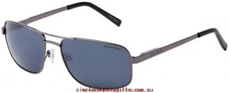 100% Top Quality Sunglasses Pascal 25421 Bill Bass Men Glass.30778997 - Gunmetal/Grey Polarised