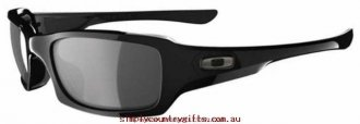 Inexpensive Sunglasses Fives Squared 923804 Oakley Men Glass.13759790 - Polished Black/Grey