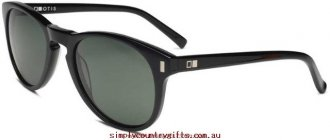 Crazy Price Sunglasses Nowhere To Run 891501 Otis Women Glass.56848351 - Black/Cool Grey