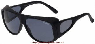 Emergency Cheap Sunglasses Waroona 10476011 Cancer Council Men Glass.38182075 - Matte Black/Smoke Polarised
