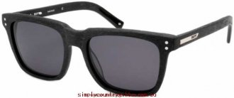 Buy Cheap Sunglasses Net 21001 Rusty Men Glass.92441955 - Black Wood/Smoke