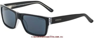 First-Rate Sunglasses Yves 25465 Bill Bass Women Glass.41482137 - Black Crystal/Grey Polarised