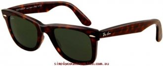 Charming Sunglasses 2140 214090250 Ray Ban Women Glass.78380661 - Tortoise/G15 Glass