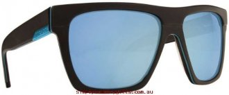 Attractive Sunglasses Regal 7202232 Dragon Eyewear Men Glass.96809620 - Matte Black/Sky Blue Ionised