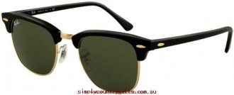 Buy Popular Sunglasses 3016 3016W036551 Ray Ban Women Glass.18434591 - Ebony Arista/G15 Glass