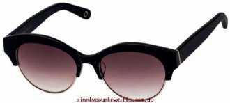 Buy Best Sunglasses Amity 1503043 Oroton Women Glass.80801700 - Black/Smoke Gradient Lenses